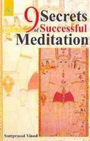 9 Secrets of Successful Meditation, Samprasad Vinod, SPIRITUALITY Books, Vedic Books