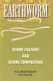 Earthworm: Vermi Culture and Vermi Composting, R.K. Bhatnagar, R.K. Palta, ENVIRONMENT Books, Vedic Books