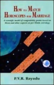 How to Match Horoscopes for Marriage, P.V.R Rayudu, DIVINATION Books, Vedic Books