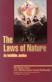 Laws of Nature: An Infallible Justice, Bhaktivedanta Swami Prabhupada, HARE KRISHNA Books, Vedic Books