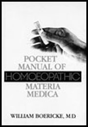 Pocket Manual of Homeopathic Materia Medica, William Boericke, HOMEOPATHY Books, Vedic Books