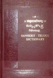 Sanskrit-Telugu Dictionary, Anon, LANGUAGES Books, Vedic Books