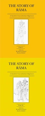 The Story of Rama (Set of 2 Volumes), Warwick Jessup, Elena Jessup, SANSKRIT Books, Vedic Books