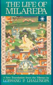 The Life of Milarepa, Lobsang P. Lhalungpa, BIOGRAPHY Books, Vedic Books