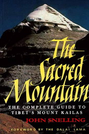 The Sacred Mountain, John Snelling, TRAVEL Books, Vedic Books