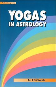 Yogas in Astrology, Dr. KS Charak, DIVINATION Books, Vedic Books