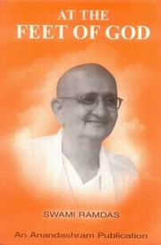 At the feet of God, Swami Ramdas, MASTERS Books, Vedic Books