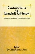 Contributions to Sanskrit Criticism