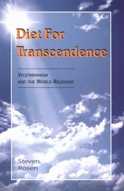 Diet for Transcendence, Seven Rosen, COOKING Books, Vedic Books