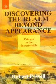 Discovering the Realm Beyond Appearance, Robert Powell, BUDDHISM Books, Vedic Books