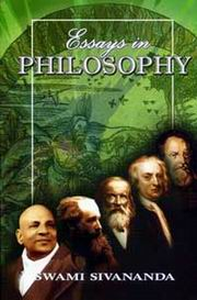 Essays in philosophy and yoga