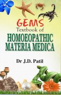 Gems: Textbook of Homoeopathic Materia Medica