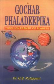 Gochar Phaladeepika, U.S.Pullippani, JUST ARRIVED Books, Vedic Books