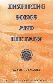 Inspiring Songs and Kirtans, Swami Sivananda, SIVANANDA Books, Vedic Books