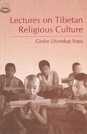 Lectures on Tibetan Religious Culture, Geshe Lhundup Sopa, LANGUAGES Books, Vedic Books