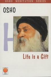 Life is a gift, Osho, MASTERS Books, Vedic Books
