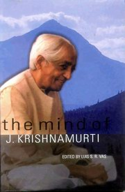 The Mind of J. Krishnamurti, Luis S.R. Vas, MASTERS Books, Vedic Books
