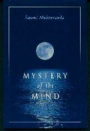 Mystery of the Mind, Swami Muktananda, YOGA Books, Vedic Books