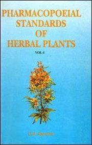Pharmacopoeial Standards of Herbal Plants (In 2 Volumes), C.R. Karnick, PLANTS Books, Vedic Books