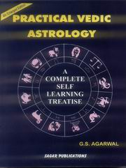 Practical Vedic Astrology, G.S. Agarwal, JUST ARRIVED Books, Vedic Books