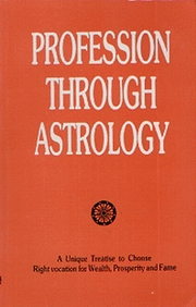 Profession Through Astrology, O.P. Verma, JYOTISH Books, Vedic Books