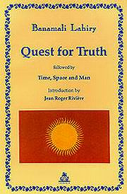Quest for Truth, Banamali Lahiry, SPIRITUALITY Books, Vedic Books