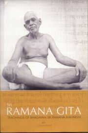 Ramana Gita, Vasishta Ganapathi Muni, JUST ARRIVED Books, Vedic Books