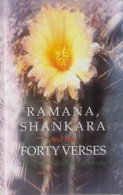 Ramana, Shankara and the Forty Verses, Ramana Maharshi, Shankara, MASTERS Books, Vedic Books