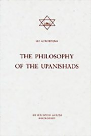 The Philosophy of the Upanishads, Sri Aurobindo, MASTERS Books, Vedic Books