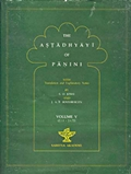 The Astadhyayi of Panini: With translation and Explanatary Notes (Volume V)