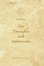 On Thoughts and Aphorisms