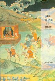 The People of Tibet, Charles Bell, TIBETAN BUDDHISM Books, Vedic Books