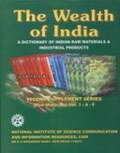 The Wealth of India: A Dictionary of Indian Raw Materials & Industrial Products: Second Supplement Series (Raw Materials) - 11 Volumes
