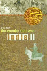 The Wonder That Was India (Vol. II), S.A.A.Rizvi, HISTORY Books, Vedic Books