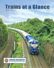Trains at a Glance (Current Edition), Indian Railways, TRAVEL Books, Vedic Books