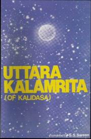 Uttara Kalamrita of Kalidasa, S.S. Sareen, DIVINATION Books, Vedic Books