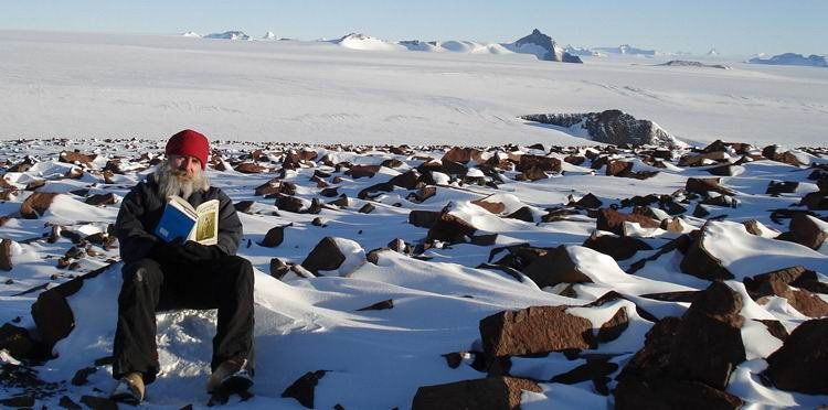 Vedic Books in the Antartica