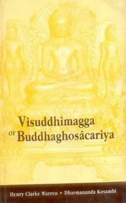 Visuddhimagga of Buddhaghosacariya, Henry Clarke Warren, Ed., JUST ARRIVED Books, Vedic Books