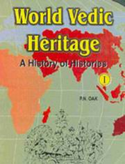 World Vedic Heritage - A History of Histories (2-Vol Set), P N Oak, HISTORY Books, Vedic Books