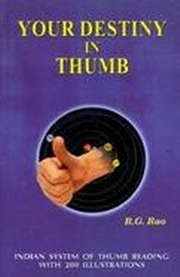 Your Destiny in Thumb, R.G. Rao, DIVINATION Books, Vedic Books