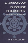 A History of Buddhist Philosophy