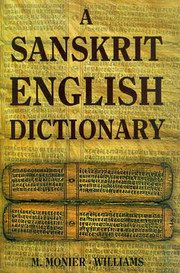 Sanskrit English Dictionary, M. Monier-Williams, LANGUAGES Books, Vedic Books