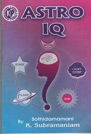 Astro IQ, K. Subramaniam, JYOTISH Books, Vedic Books