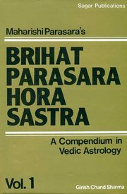 Brihat Parasara Hora Sastra - Volume I, Girish Chand Sharma, DIVINATION Books, Vedic Books