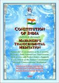 Constitution of India fulfilled through Maharishi's Transcendental Meditation
