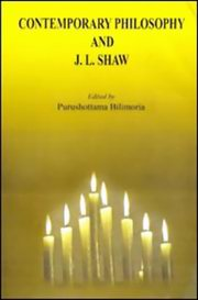 Contemporary Philosophy and J.L. Shaw, Purushottama Bilimoria, PHILOSOPHY Books, Vedic Books , Contemporary Philosophy and J.L. Shaw, Nyaya, Purushottama Bilimoria