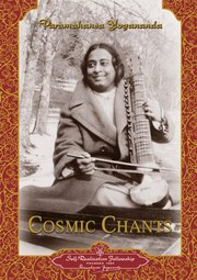 Words of Cosmic Chants in English and Hindi, Paramahansa Yogananda, MUSIC Books, Vedic Books
