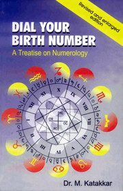 Dial Your Birth Number: A Treatise on Numerology, Dr. M. Katakkar, FORTUNE TELLING Books, Vedic Books