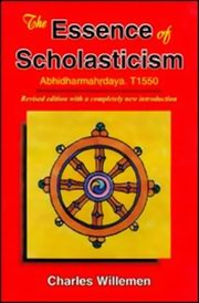 Essence of Scholasticism, Charles Willemen, BUDDHISM Books, Vedic Books , BUDDHISM