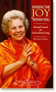 Finding the Joy Within You, Daya Mata, INSPIRATION Books, Vedic Books